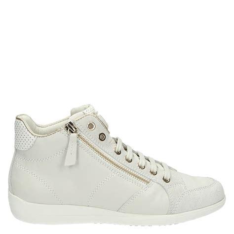 Geox Sneakers geox myria hoge sneakers wit