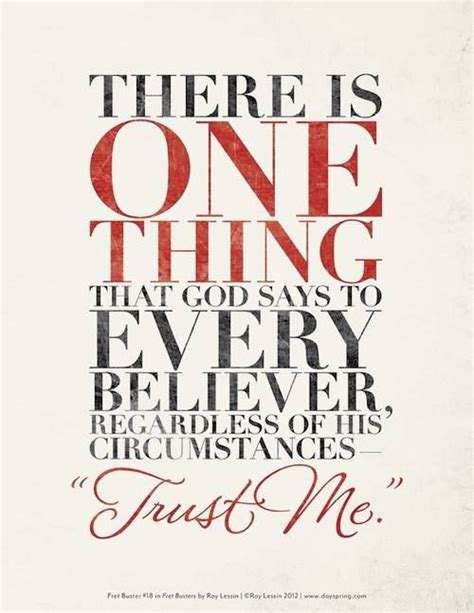 Just Trust Me god says quot just trust me i got this quot quot i can do all things