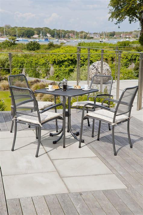 fauteuil empilable portofino en acier sans coussin
