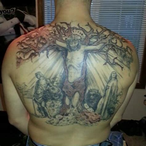 religious back tattoos christian ideas and christian designs page 3