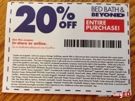 Bed Bath Beyond 20 Entire Purchase bed bath beyond 20 entire purchase or in