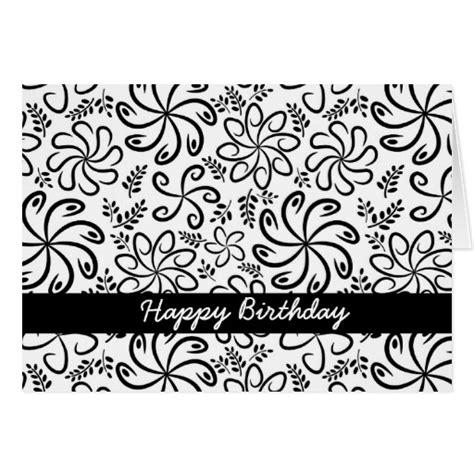 imagenes feliz cumpleaños blanco y negro tarjetas en blanco y negro para el dia de los jardines de