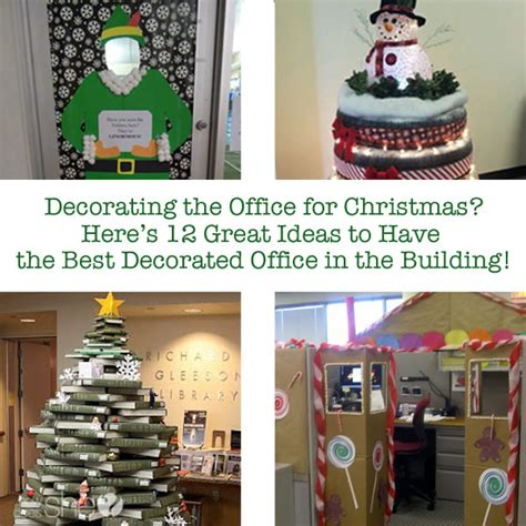 most popular christmas office decorating door ideas great ideas to the best decorated office in the building