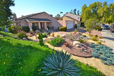 california smartscapetierrasanta colorful xeriscape low water low maintenance front yard