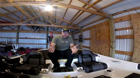 replacement nitro boat seats nitro boat seat replacement install youtube
