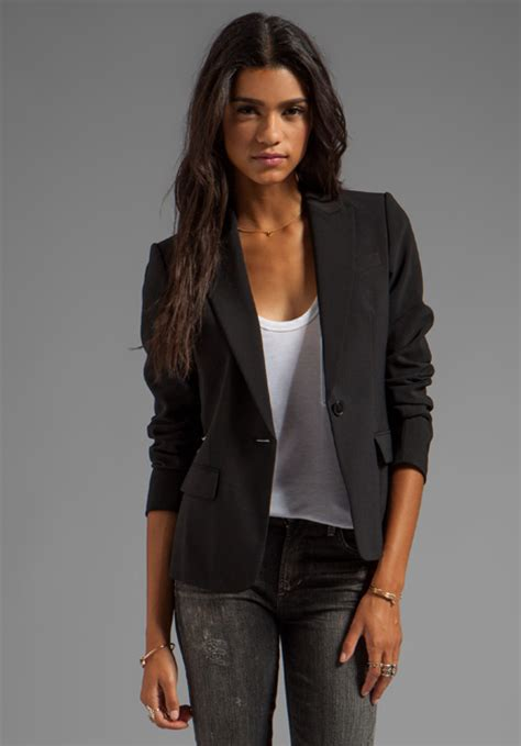 Revolve Clothing Gift Card - theory gabe 2 blazer in black at revolve clothing free shipping