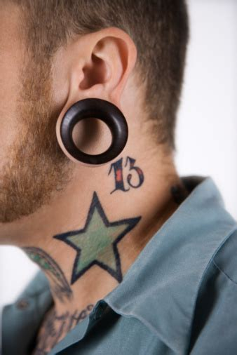 star neck tattoo designs 29 neck tattoos designs for