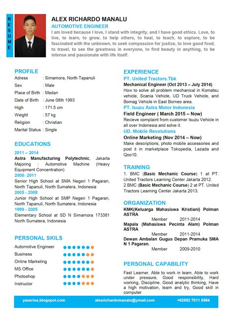 biodata bj habibie dalam bahasa indonesia contoh curriculum vitae dalam bahasa inggris alex notes