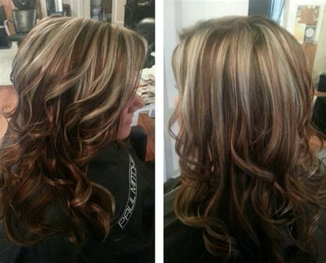 diy highlights for dark hair love the color caramel sand blond highlights and http