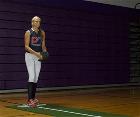 Jennie Finch Pitching Mat by Jennie Finch Softball Pitching Mat Powerline Portable
