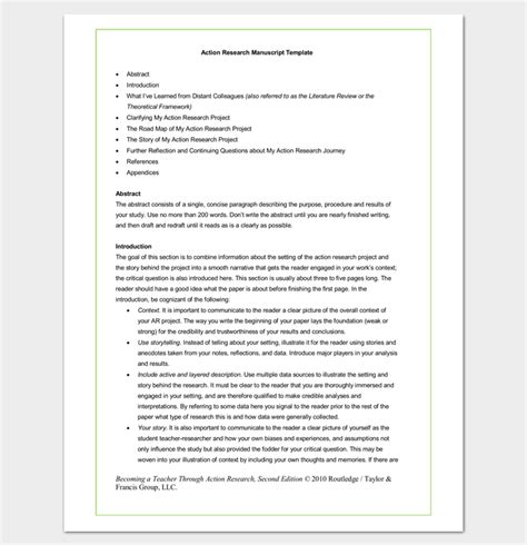 manuscript outline template research paper outline template 36 exles formats