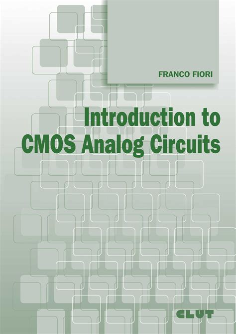 librerie giuridiche torino introduction to cmos analog circuits clut editrice