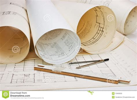 Draw House Plans To Scale old architectural drawing stock image image of drawing