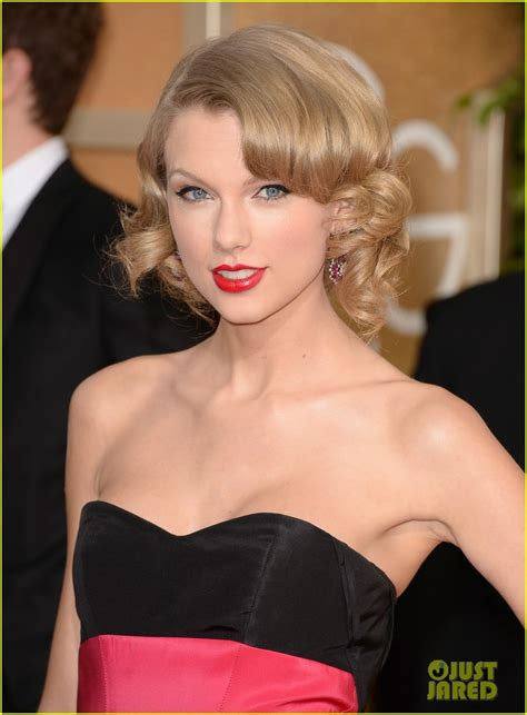 short hairstyles golden globes taylor swift golden globes 2014 red carpet photo