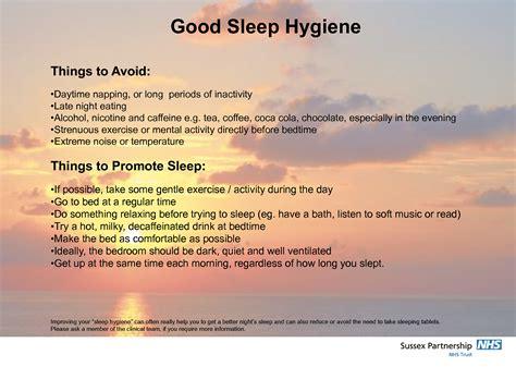 1000 images about good sleep habits on pinterest sleep free printable good sleep hygiene good sleep hygiene