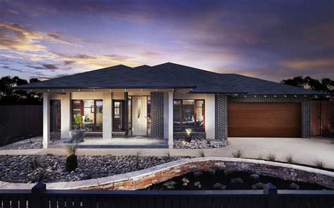 Modern Single Storey House Plans Choose Home Quality With Our Lincoln Design