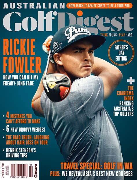 golf digest magazine cover whitepointer