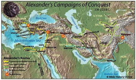 great maps gaugamela world of alexander the great