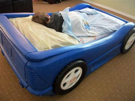 little tikes blue car toddler bed little tikes car bed toddler dimensions home design ideas
