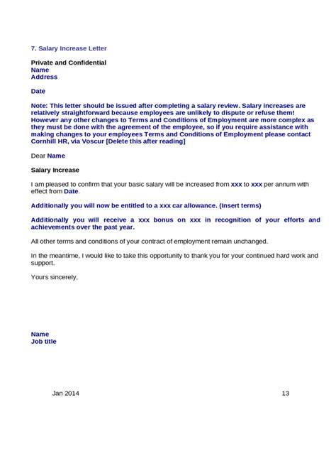salary increment request letter format writing professional letters