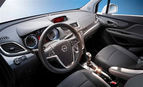 opel mokka interior car and driver