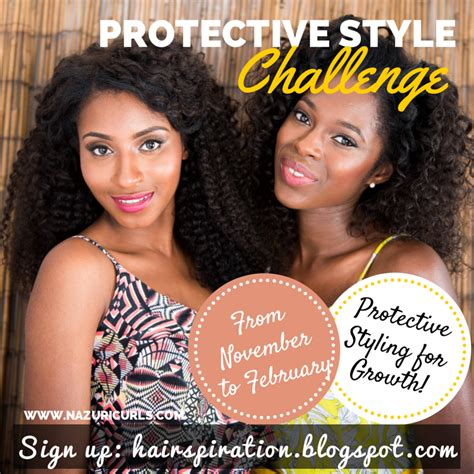 natural hair protective style challenge natural belle november 2014
