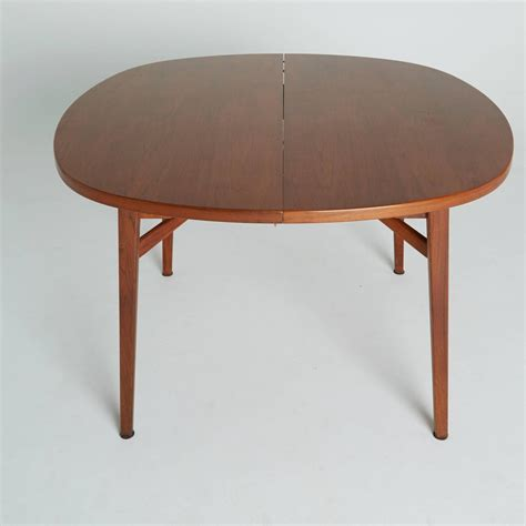 dining table expandable jens risom teak expandable dining table for sale at 1stdibs
