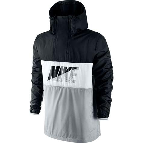 Jaket Hoodie Tgh Black Diskon nike half zip hoodie s sportswear jacket black