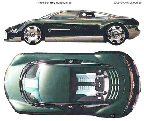 bentley hunaudieres 1999 bentley hunaudieres coupe blueprints free outlines