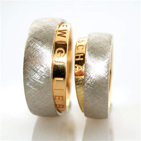 Eheringe 2 Farbig by Eheringe In Gold Platin Individuell Hergestellt
