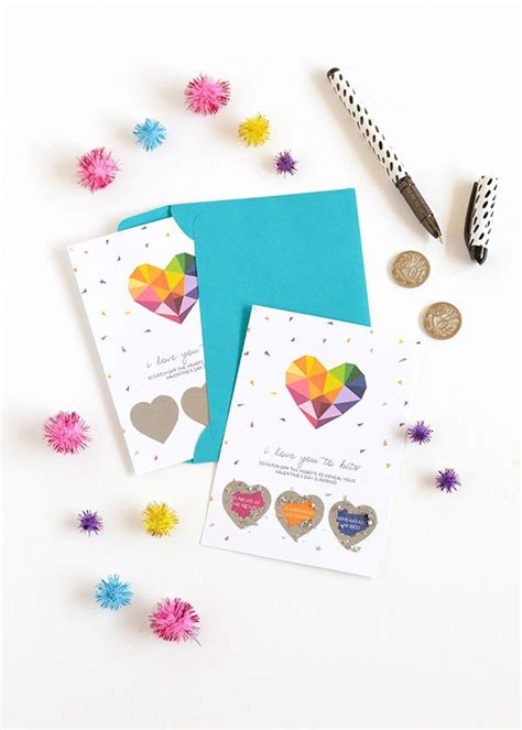 scratch valentines how to make your own custom scratch s cards