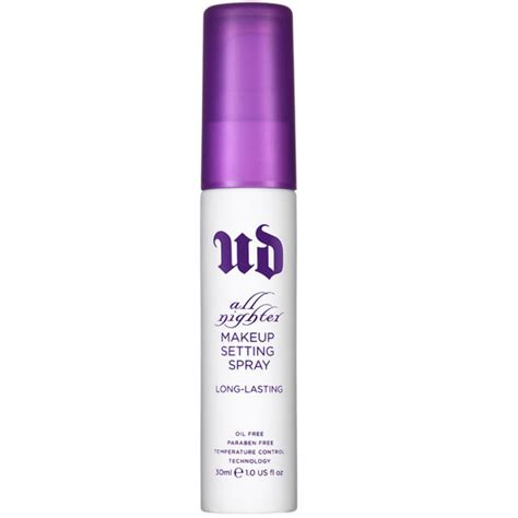 Decay Spray decay all nighter makeup setting spray deluxe 30ml