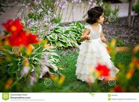 princess in the garden royalty free stock image image
