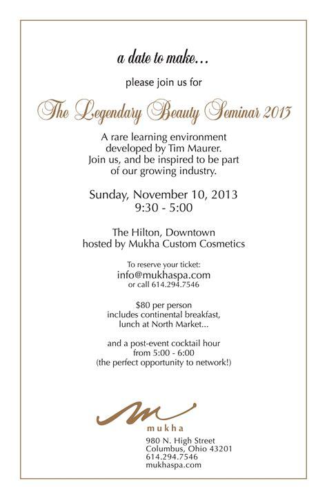 Free Seminar Invitation Card Templates by Invitation Seminar Gallery Invitation Sle And