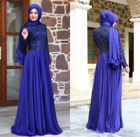 Gamis Fashion Turkez Maron by Newest Muslim Evening Dresses 2016 Sleeve High Neck