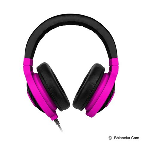 Headset Razer Neon Series jual gaming headset razer kraken neon series purple