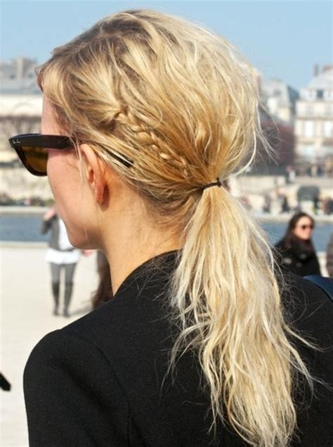 loose back braid sweet loose curly hairstyle with braid for 2014 pretty