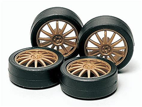 Tamiya 95254 Arched Tires Carbon Reinforced Large Dia Narrow tamiya mini 4wd tires sets