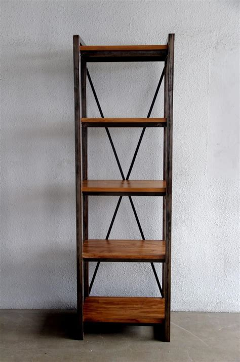 narrow bookcase for small rooms