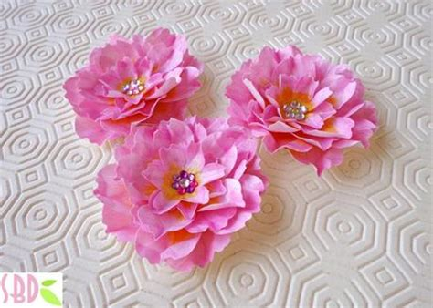 fiori di loto di carta fiori di loto di carta paper lotus flowers paperblog