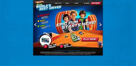 Mattel Hot Wheels Sweepstakes - hotwheels com bestdriver hot wheels be the world s best driver sweepstakes