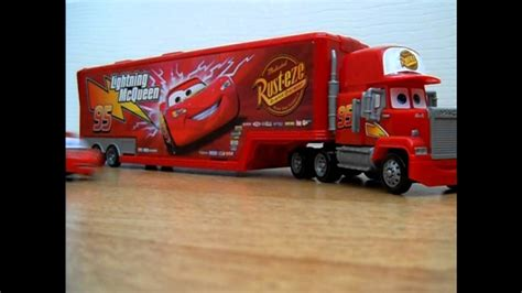 lighting mcqueen and mack lightning mcqueen mack rc