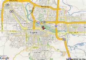 eugene oregon on map eugene oregon driverlayer search engine