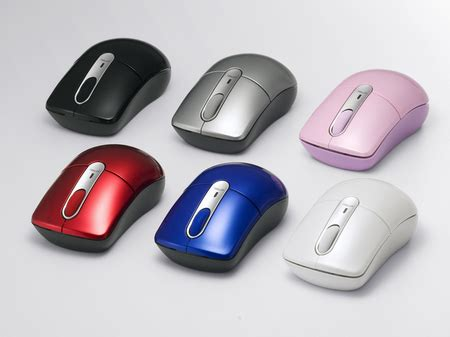 Mouse Wireless Buffalo buffalo wireless mice are colorful