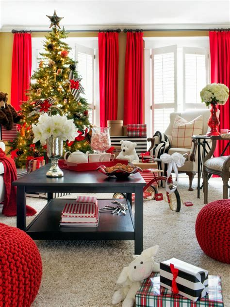 home christmas decor christmas tree decorating ideas hgtv