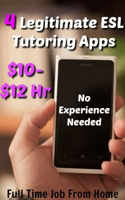 immediate full time help no experience required jobs now 4 scam free esl tutoring apps no experience needed full