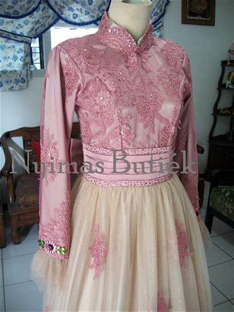 Kebaya Pengantin Modern Kebaya Ressepsi Mewah Baby Pink Murah pernikahan dan mode baju pengantin small note