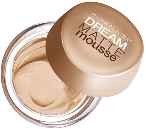 mousse make up maybelline new york matte mousse foundation