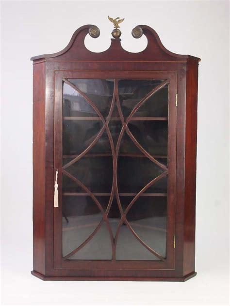 Antique Corner Cupboard For Sale - antique georgian mahogany corner cupboard for sale
