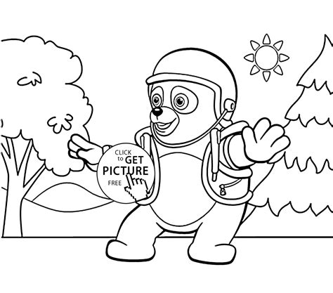 agent oso coloring pages for kids printable free